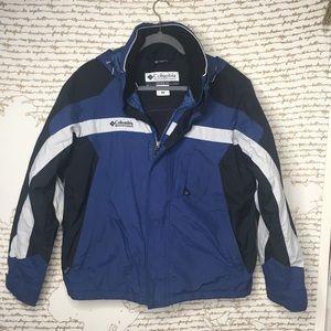 Men's Columbia Waterproof Fleece Lined Winter Coat